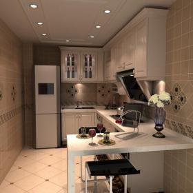 門廚衛吊頂柜子廚房廚房吊頂現代簡約吧臺椅時尚經典的廚衛吊頂設計效果圖大全