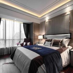 新古典風格四居室臥室窗簾裝修效果圖大全
