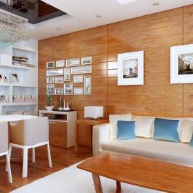 跃层家居收纳现代风格餐厅创意收纳效果图