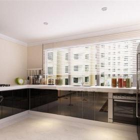 現代簡約一居室廚房燈具裝修效果圖欣賞