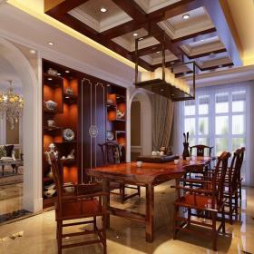 新古典家装设计室内地面铺装图片效果图