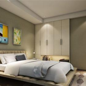 中式风格六居室卧室楼梯装修效果图欣赏