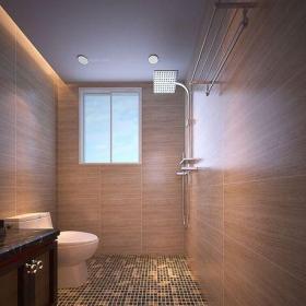 中式風格四居室衛生間燈具裝修效果圖大全