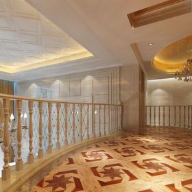 楼梯欧式风格跃层装修效果图