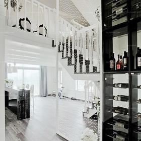 現代別墅過道創意生活用品從細節處表現古典情懷的樓道效果圖大全