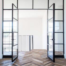 极简不锈钢框欧式门窗效果图