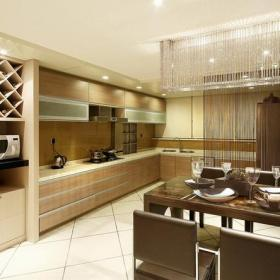 酒柜臺面家居收納現代風格廚房間裝修效果圖現代風格櫥柜圖片
