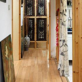 混搭风格二居室玄关隔断装修图片效果图大全