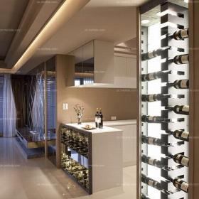 別墅現代風格時尚經典酒柜收納裝修效果圖