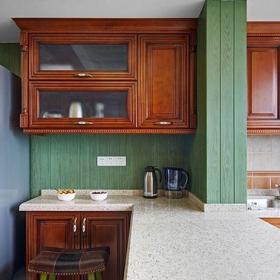 田園風格二居室廚房燈具裝修效果圖欣賞
