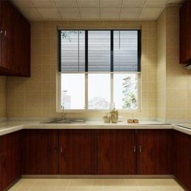 中式風格四居室廚房燈具裝修效果圖大全