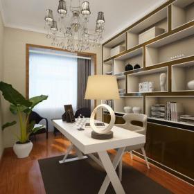 家居收納中式風格書房裝修效果圖