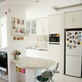 现代小户型家装效果图之餐台设计