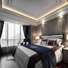新古典風格三居室臥室吊頂裝修效果圖大全