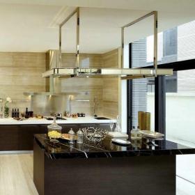 新古典风格别墅厨房灯具装修效果图欣赏