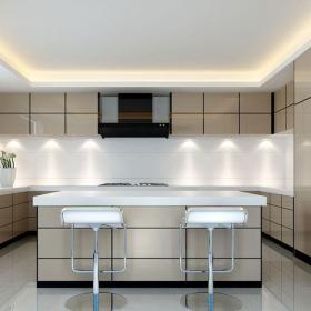 現代簡約五居室廚房燈具裝修效果圖欣賞