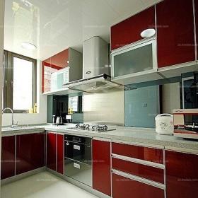 婚房布置110㎡現代櫥柜家居收納婚房廚房設計,大氣且時尚效果圖大全