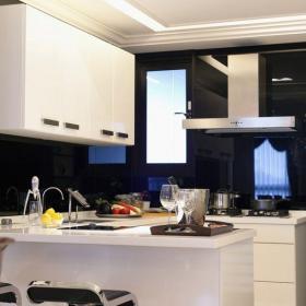 簡約風格廚房吧臺裝修設計效果圖