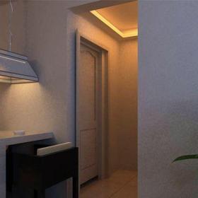 現代簡約一居室玄關隔斷裝修效果圖