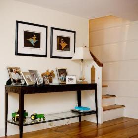 復式樓北歐家飾簡潔而時尚的過道收納設計效果圖大全