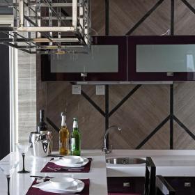 简约风格二居餐厅餐台装修图片效果图