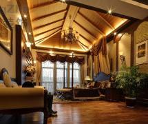 歐式古典臥室吊頂效果圖