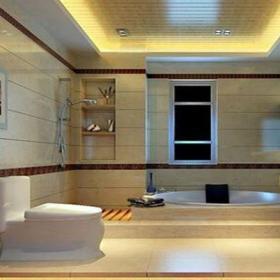 新中式三居室衛生間吊頂裝修效果圖欣賞