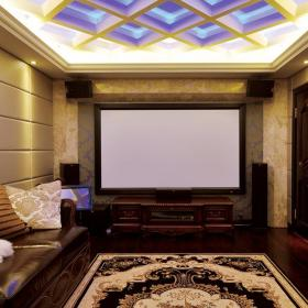 欧式古典风格家庭影院装修图片效果图欣赏
