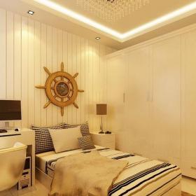 簡歐風格二居室兒童房床裝修效果圖
