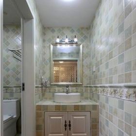 欧式古典风格家装卫生间效果图片效果图