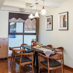 现代简约三居室餐厅楼梯装修效果图欣赏