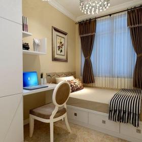 現代簡約五居室臥室榻榻米裝修效果圖
