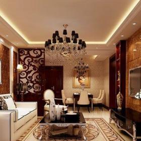 新中式風格四居室客廳沙發裝修圖片效果圖