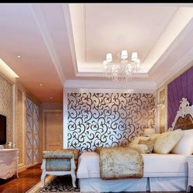 簡歐風格四居室臥室吊頂裝修圖片效果圖