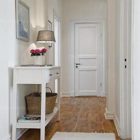 单身公寓灵动的北欧玄关清新呈现效果图大全