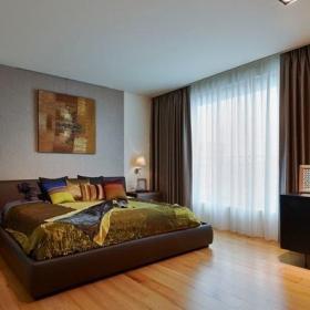 宜家風格一居臥室裝飾案例圖片欣賞效果圖