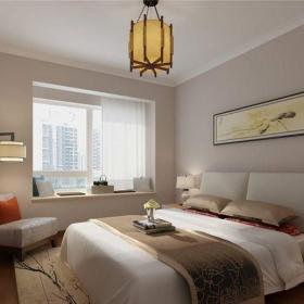 现代简约二居室卧室电视柜装修效果图欣赏