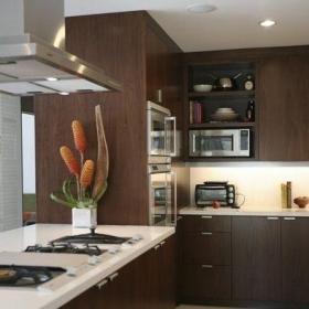 中式風格三居室廚房吊頂裝修圖片效果圖