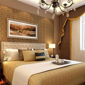 简欧风格四居室卧室照片墙装修效果图欣赏