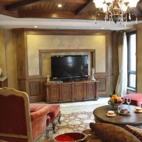 欧式古典客厅实拍图效果图大全
