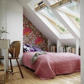 复式楼床北欧躺着看星星,惬意舒适的阁楼卧室效果图大全