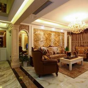 欧式客厅沙发布置图片效果图大全