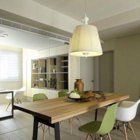 現代簡約二居室餐廳吊頂裝修圖片裝修效果圖