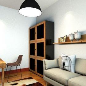中式風格三居室書房書架裝修圖片效果圖大全