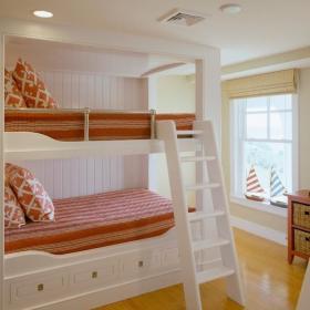 宜家雙人兒童房上下鋪裝修設計效果圖