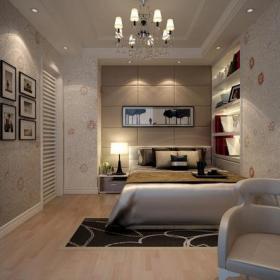 壁柜四居沙發背景墻吊頂壁紙大戶型床簡約歐式風格次臥室背景墻裝修效果圖簡約歐式風格單人沙發圖片