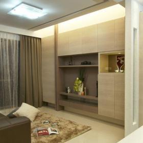 55平米宜家風格一室一廳裝修效果圖