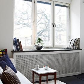 小戶型北歐客廳飄窗裝修效果圖