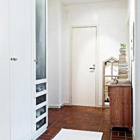 小户型单身公寓玄关浓厚人情味的北欧风格设计效果图