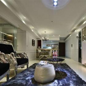 欧式古典三居室客厅沙发装修?#35745;?#25928;果图